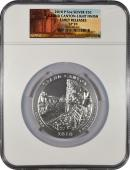 2010-P 5 Oz America The Beautiful NP4 Grand Canyon-Light Finish NGC SP70 ER Specimen 70 Early Releases