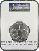 2011-P 5 Oz America The Beautiful NP6 Gettysburg NGC SP70 ER Specimen 70 Early Releases