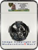 2012 5 Oz America The Beautiful El Yunque National Forest NGC MS69 PL FR Mint State 69 Prooflike First Releases