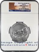 2012-P 5 Oz America The Beautiful NQ1 Chaco NGC SP70 ER Specimen 70 Early Releases
