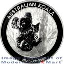 2013-P Australia 1 Oz Silver Koala $1 Gem Brilliant Uncirculated in Original Perth Mint Capsule