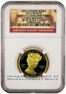 2012-W Frances Cleveland First Term $10 First Spouse Gold NGC PF69 Ultra Cameo