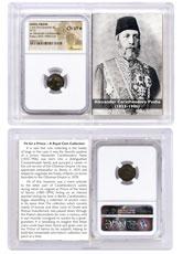 Caria, Isl. of Rhodes AE27 (2nd-1st Centuries BC) - ex. Alexander Pasha, Prince of Samos NGC VF (Story Vault)