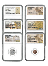 6-Coin Set - Ancient Coins Type Set Collection Scarce and Unique Coin Division Deluxe Edition NGC Varies