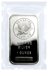 Sunshine Minting Logo 1 oz Silver Bar