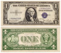 1935-D $1 Silver Certificate Uncirculated