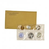 1961 U.S. Silver Proof Coin Set GEM Proof OGP