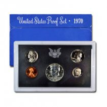 1970-S U.S. Proof Coin Set GEM Proof OGP