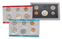 2-Piece Set - 1970 U.S. Mint + U.S. Proof Set OGP
