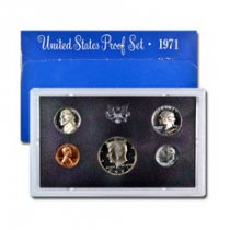 1971-S U.S. Proof Coin Set GEM Proof OGP