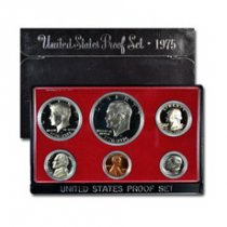 1975-S U.S. Proof Coin Set GEM Proof OGP