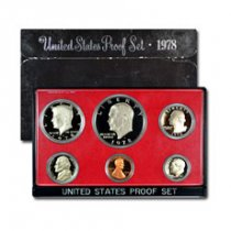 1978-S U.S. Proof Coin Set GEM Proof OGP
