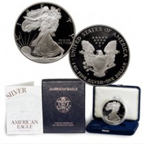 1994-P Proof American Silver Eagle (OGP)