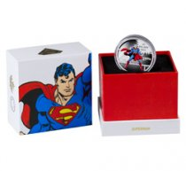 2016 Canada DC Comics Originals - Superman 1 oz Silver Colorized Proof $20 Coin GEM Proof
