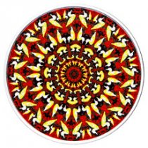 2017 Canada Canadiana Kaleidoscope - Loon 1 oz Silver Colorized Proof $20 Coin GEM Proof (OGP)