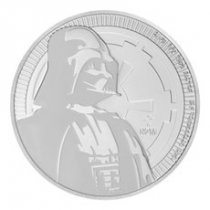 2017 Niue Star Wars Classic - Darth Vader 1 oz Silver $2 Coin GEM BU