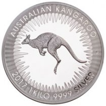 2017-P Australia 1 Kilo Silver Kangaroo - Proof $30 Coin GEM Proof OGP