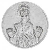2017 Niue Star Wars Classic - Han Solo Ultra High Relief 2 oz Silver Proof $5 Coin GEM Proof OGP