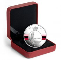 2017 Canada Canadian Honors - Sacrifice Medal 1 oz Silver Colorized Proof $20 Coin GEM Proof (OGP)