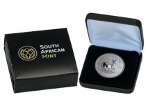 2017 South Africa 1 oz Silver Krugerrand Premium Uncirculated Coin GEM Premium Uncirculated (Mint Box)