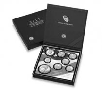 2017-S U.S. Limited Edition Silver Proof Coin Set OGP