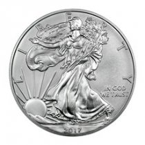 2017-W Burnished American Silver Eagle GEM BU OGP