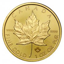2018 Canada 1 oz Gold Maple Leaf $50 Coin GEM BU