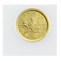 2018 Canada 1/10 oz Gold Maple Leaf 5 Coin GEM BU Mint Sealed