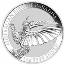 2018-P Australia 1 oz Silver Bird of Paradise $1 Coin GEM BU