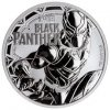 2018 Tuvalu Black Panther 1 oz Silver Marvel Series $1 Coin GEM BU Original Mint Capsule