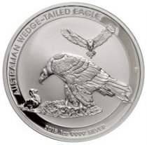 2018-P Australia 1 oz Silver Wedge-Tailed Eagle $1 Coin GEM BU