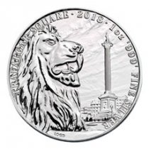 2018 Great Britain Trafalgar Square - Landmarks of Britain 1 oz Silver Coin GEM BU
