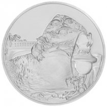 2018 Niue Star Wars Classic - Jabba the Hutt 1 oz Silver Proof $2 Coin GEM Proof OGP