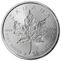 2018 Canada 1 oz Silver Maple Leaf - Incuse $5 Coin GEM BU