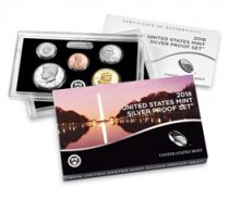 2018-(S) U.S. Silver Proof Coin Set GEM Proof