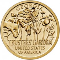 2019-S American Innovation Trustees' Garden Georgia Clad Dollar Reverse Proof Coin GEM Reverse Proof OGP