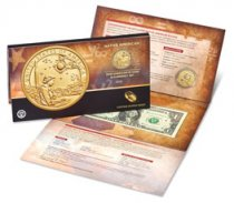 2019 Native American Coin & Currency Set $1 Enhanced Finish Dollar OGP
