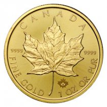 2019 Canada 1 oz Gold Maple Leaf $50 Coin GEM BU