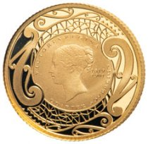 2019 New Zealand Gold Quarter Sovereign Proof Coin Proof