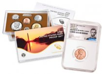 2019-S U.S. Proof Coin Set + 2019-W Lincoln Cent NGC GEM Proof FR