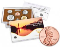 2019-S U.S. Proof Set with 2019-W Lincoln Cent Proof Coin Not Sealed