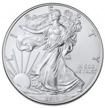 2019 1 oz Silver American Eagle $1 Coin GEM BU