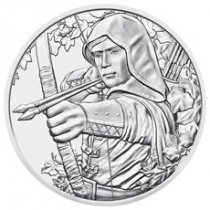 2019 Austria Robin Hood - 825th Anniversary of Austrian Mint 1 oz Silver €1.50 Coin GEM BU