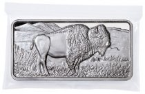 Highland Mint Buffalo 10 oz Silver Bar GEM BU