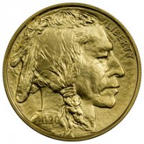 2020 1 oz Gold Buffalo $50 Coin GEM BU