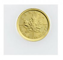 2020 Canada 1/10 oz Gold Maple Leaf $5 Coin GEM BU