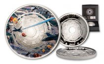 2020 $1 1 oz Silver Mesa Grande UFO Proof Coin GEM Proof