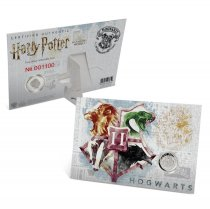2020 Gibraltar Harry Potter Houses - Hogwarts Houses 1/3 oz Silver Proof £1 Coin GEM Proof in Display Card
