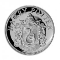 2020 Gibraltar Harry Potter Houses - Hogwarts Slytherin House 1/3 oz Silver Proof £1 Coin GEM Proof in Display Card