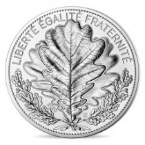 2020 France Nature of France the Oak 18 g Silver Proof €20 Coin GEM Proof